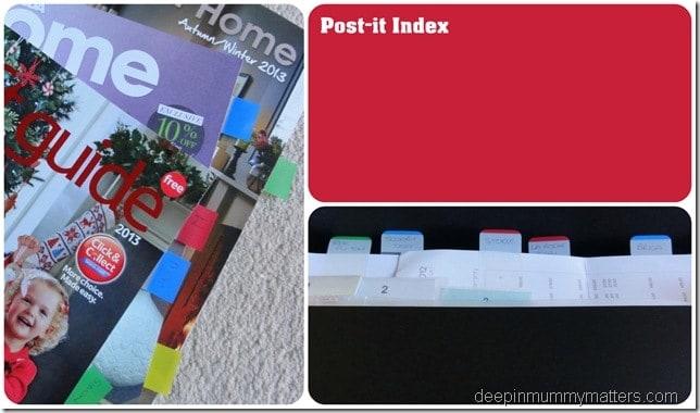 Post-It Index