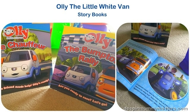 Olly The Little White Van
