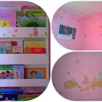 Little Bean's Bedroom Makeover with Wall Stickers