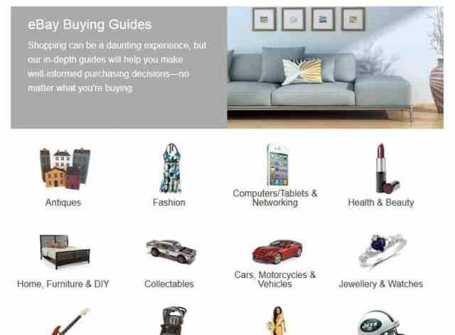 ebay buyers guide