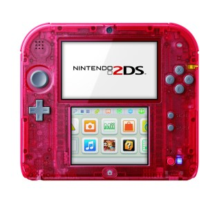Transparent Red 2DS