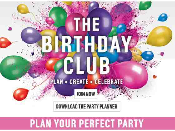 Argos Birthday Club