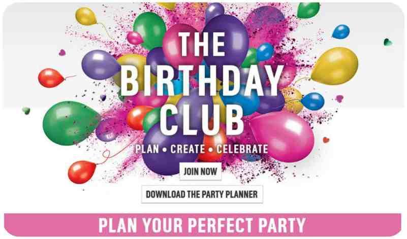 Argos Birthday Club