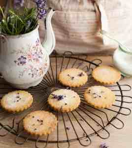 Lovely Lavender Biscuits
