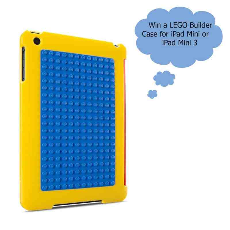 LEGO Builder ipad mini case giveaway graphic