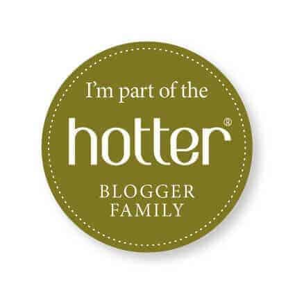 Hotter Blogger Badge