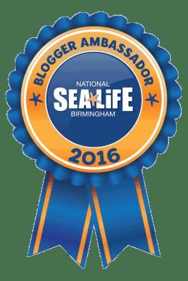 Sea Life Blogger Ambassador