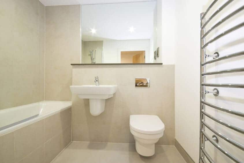 White Bathroom Suite