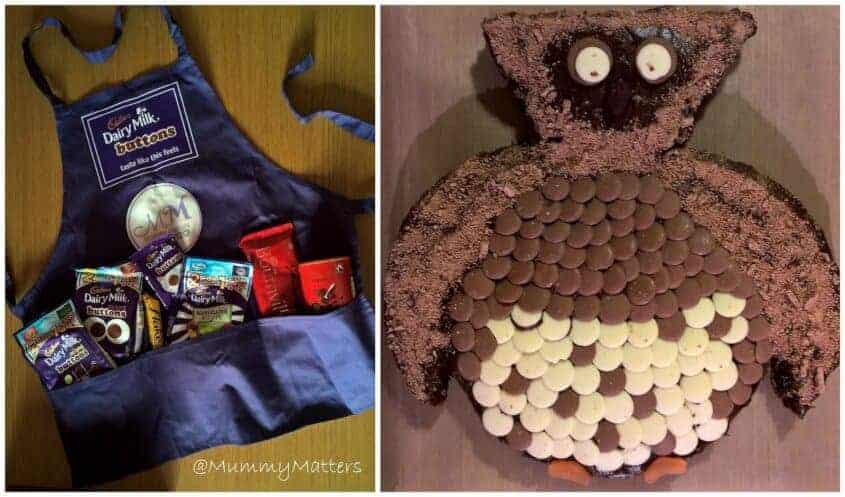 Cadbury Owl Cake