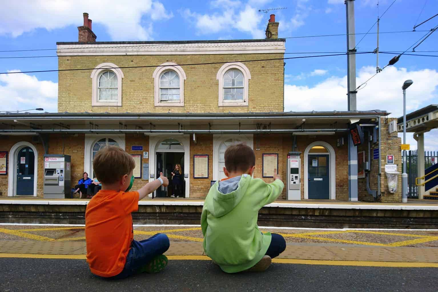 Audley End Train Station