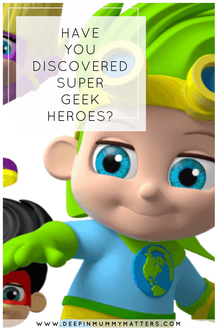 HAVE YOU DISCOVERED SUPER GEEK HEROES?