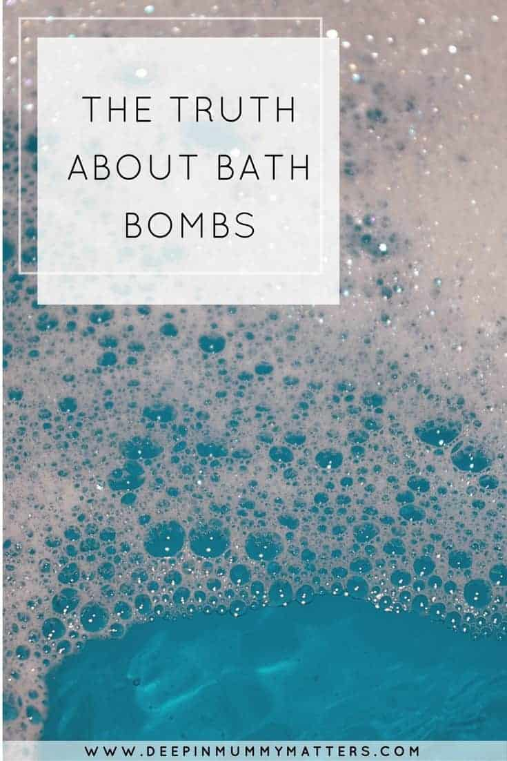 THE TRUTH ABOUT BATH BOMBS