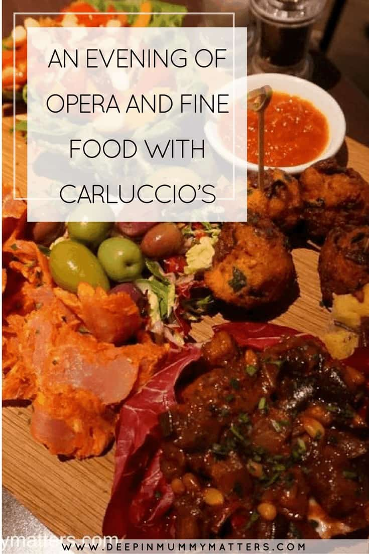 AN EVENING OF OPERA AND FINE FOOD WITH CARLUCCIO'S