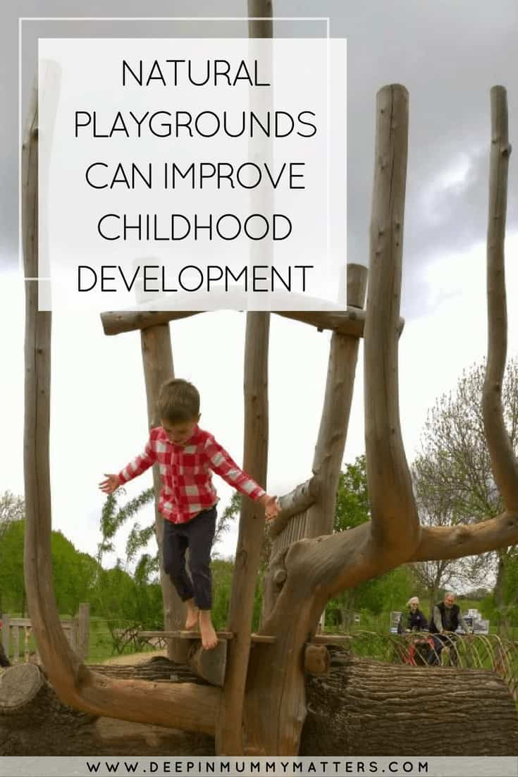 NATURAL PLAYGROUNDS CAN IMPROVE CHILDHOOD DEVELOPMENT