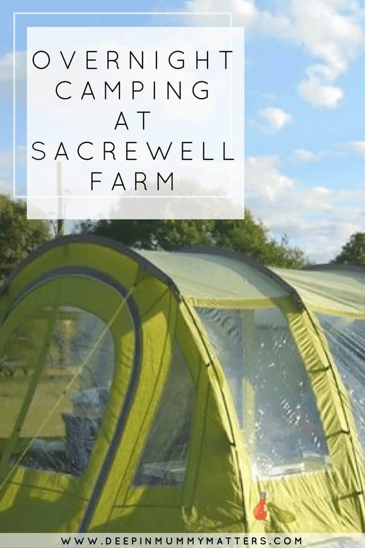 OVERNIGHT CAMPING AT SACREWELL FARM