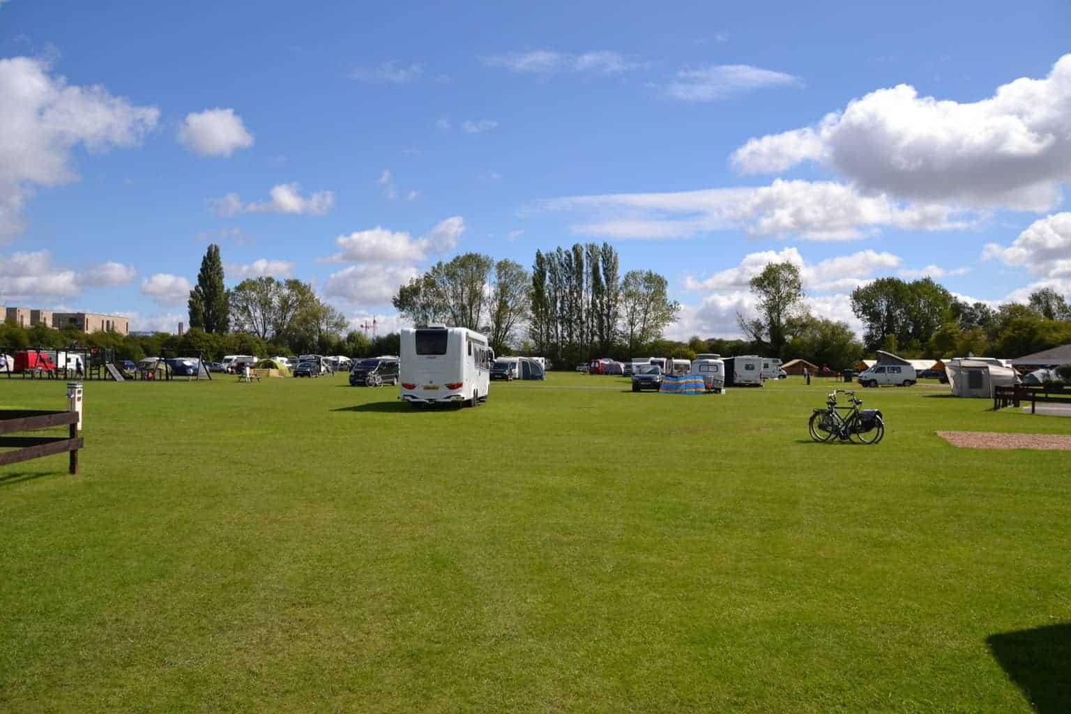 Cambridge Camping & Caravanning Club Site