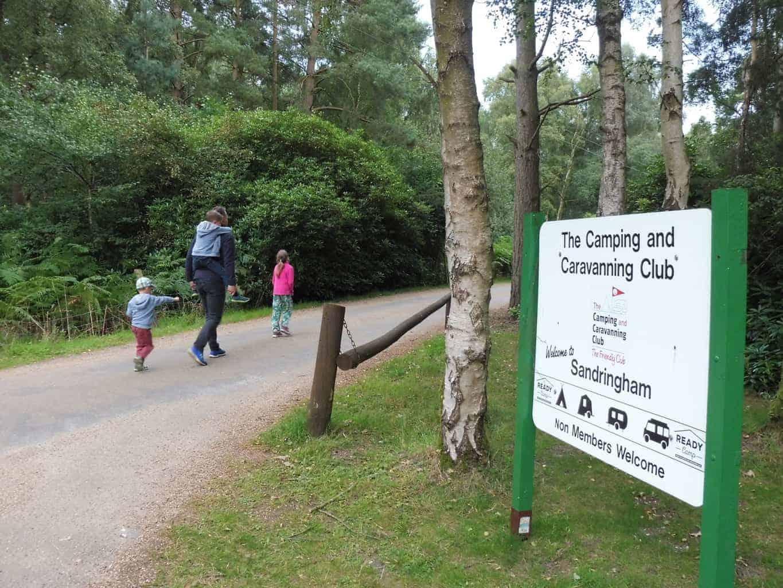 Sandringham Camping & Caravanning Club Site
