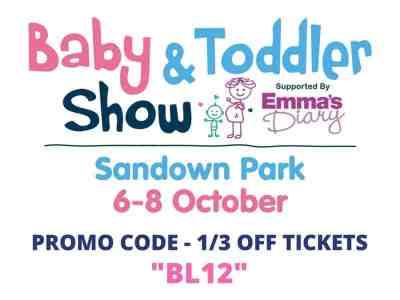 Baby & Toddler Show Promo Code