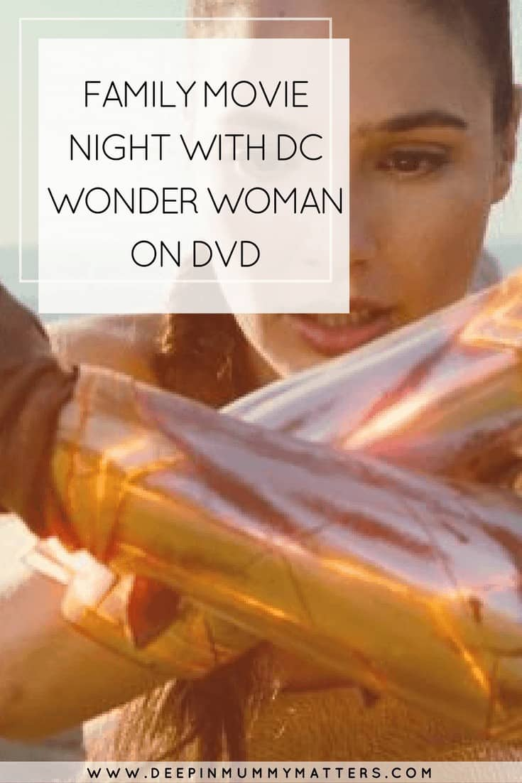 FAMILY MOVIE NIGHT WITH DC WONDER WOMAN ON DVD