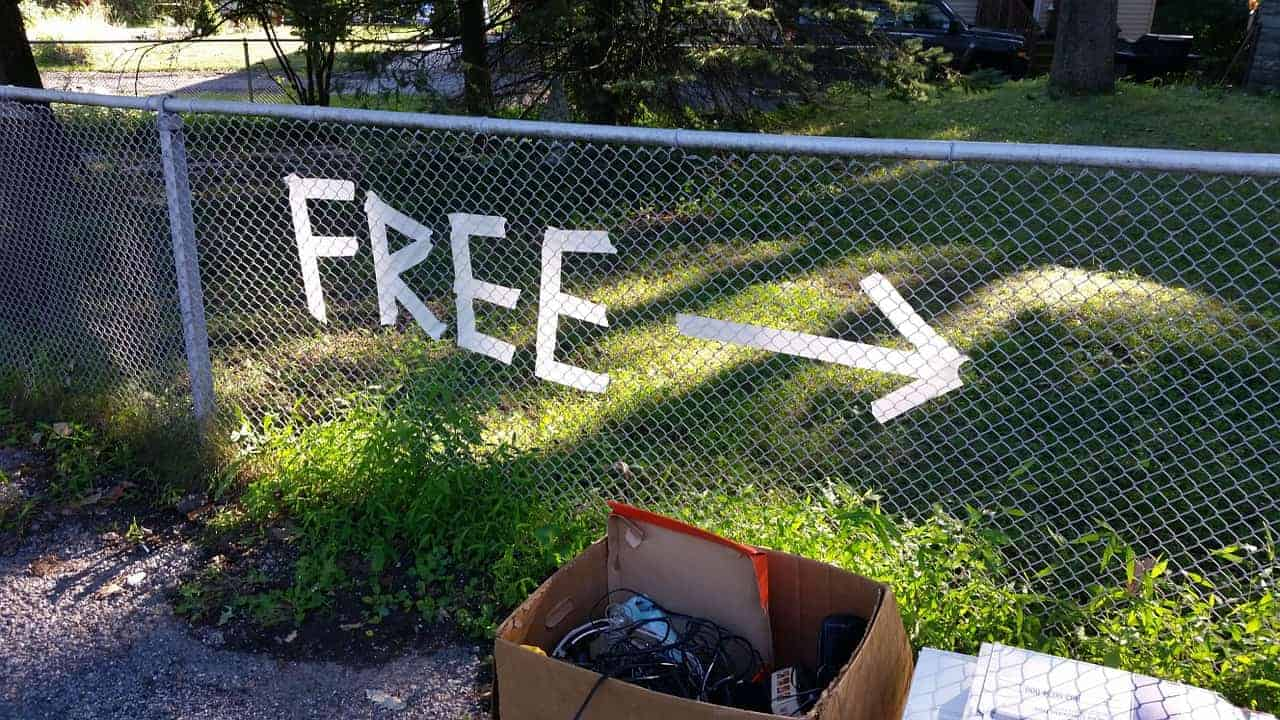 free up clutter