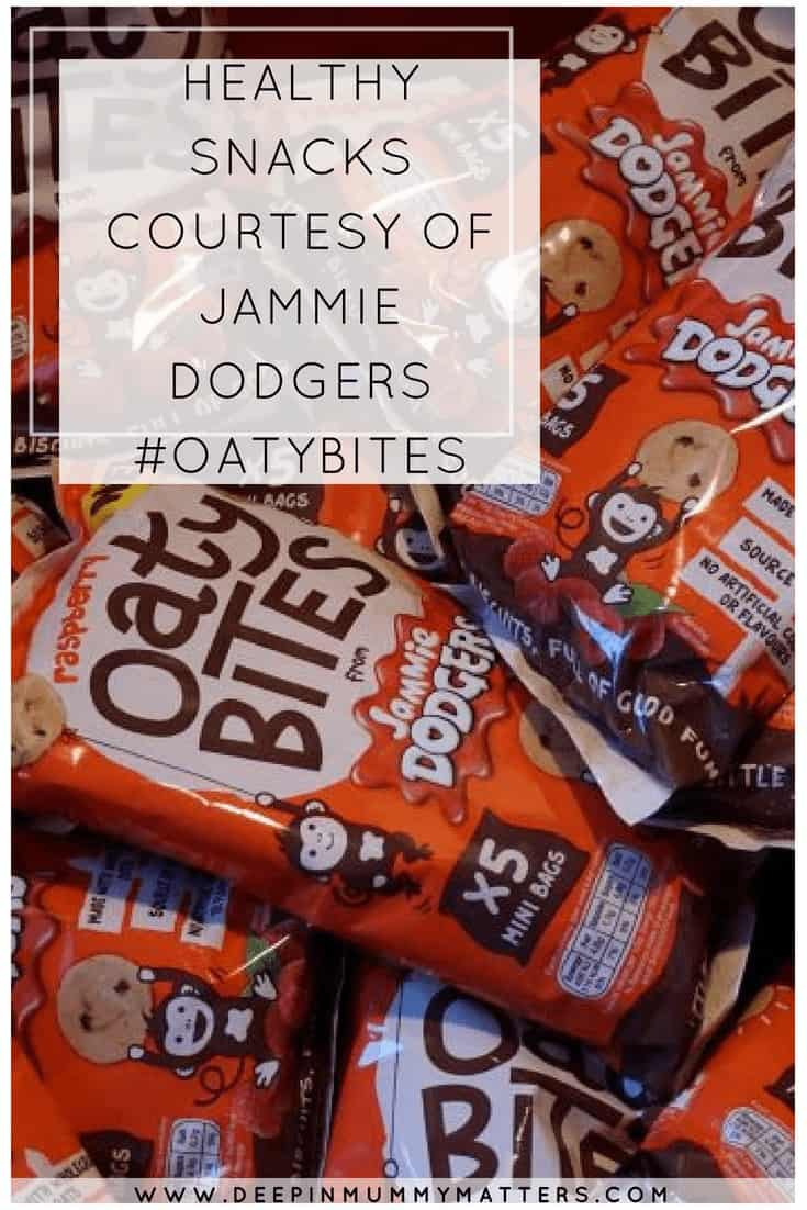 HEALTHY SNACKS COURTESY OF JAMMIE DODGERS #OATYBITES