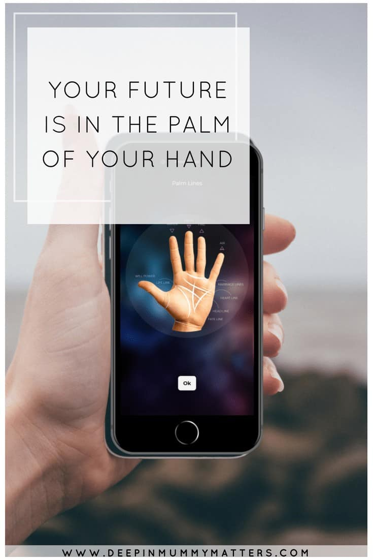 YOUR FUTURE IS IN THE PALM OF YOUR HAND