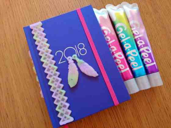 Gel A Peel Design A Diary