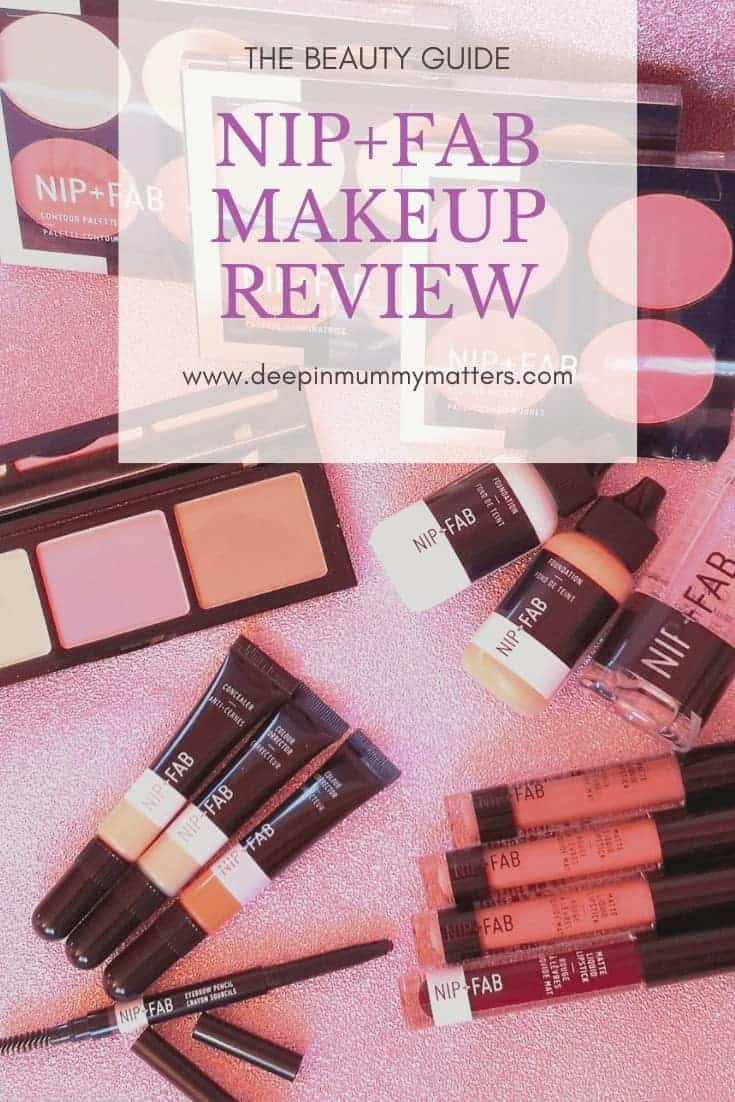 The Beauty Guide NIP+FAB Makeup Review