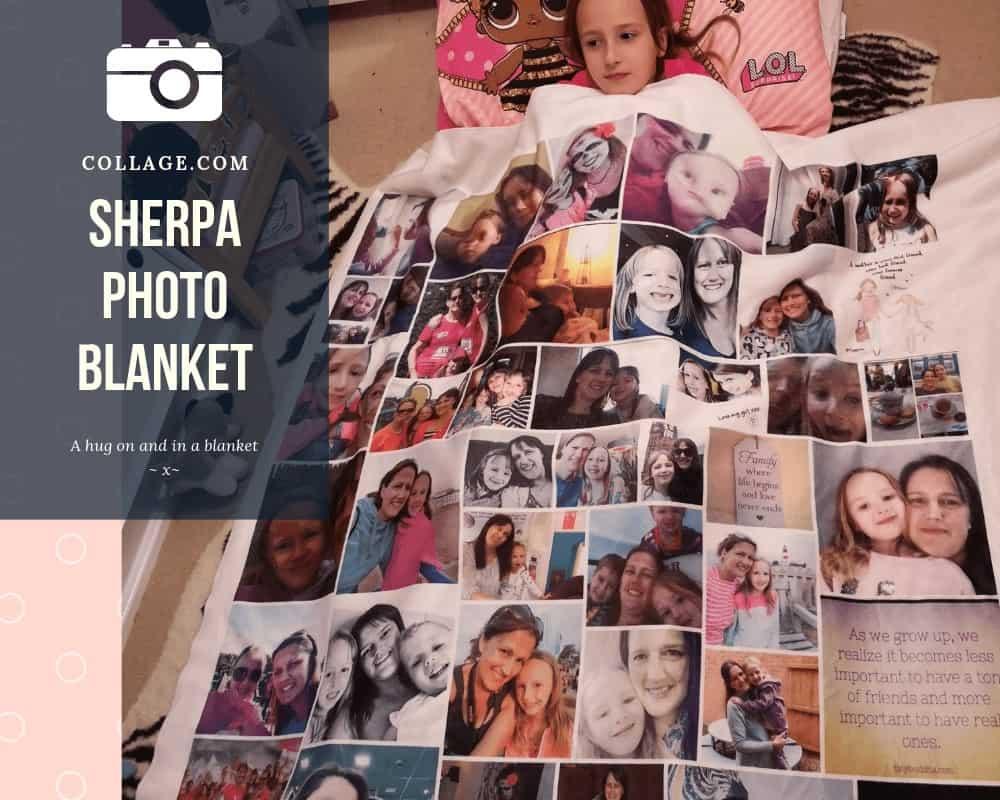 Sherpa Photo Blanket