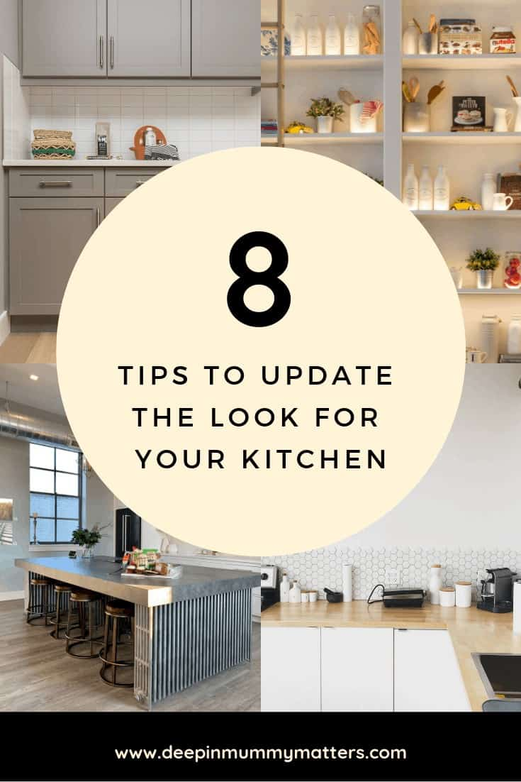 8 Tips to update the look for your kitchen
