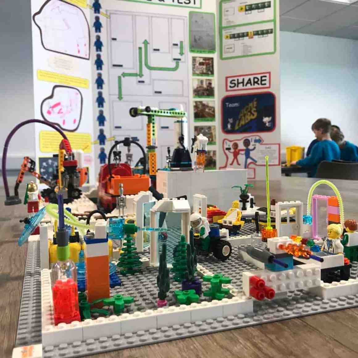 STEM Adventurers use LEGO to plan life on the moon
