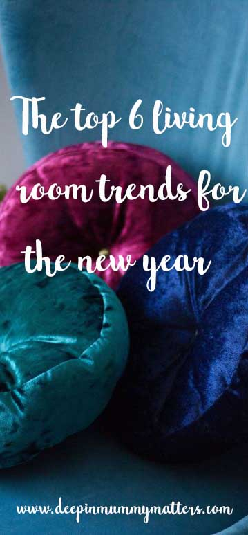 The top 6 living room trends for the new year
