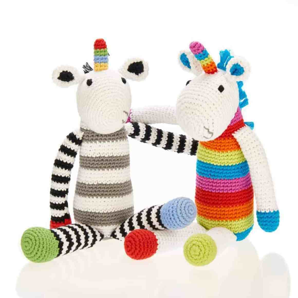 Unicorn Knitted Toys