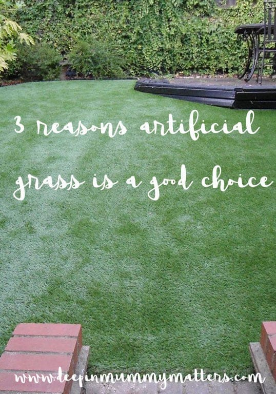 3 reasons why artificial grass is a good choice