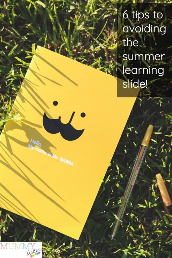 Summer Learning Slide