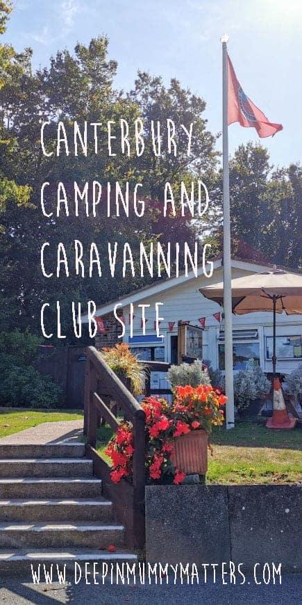 Canterbury Camping site