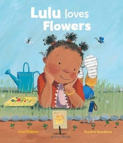 LuLu loves flowers