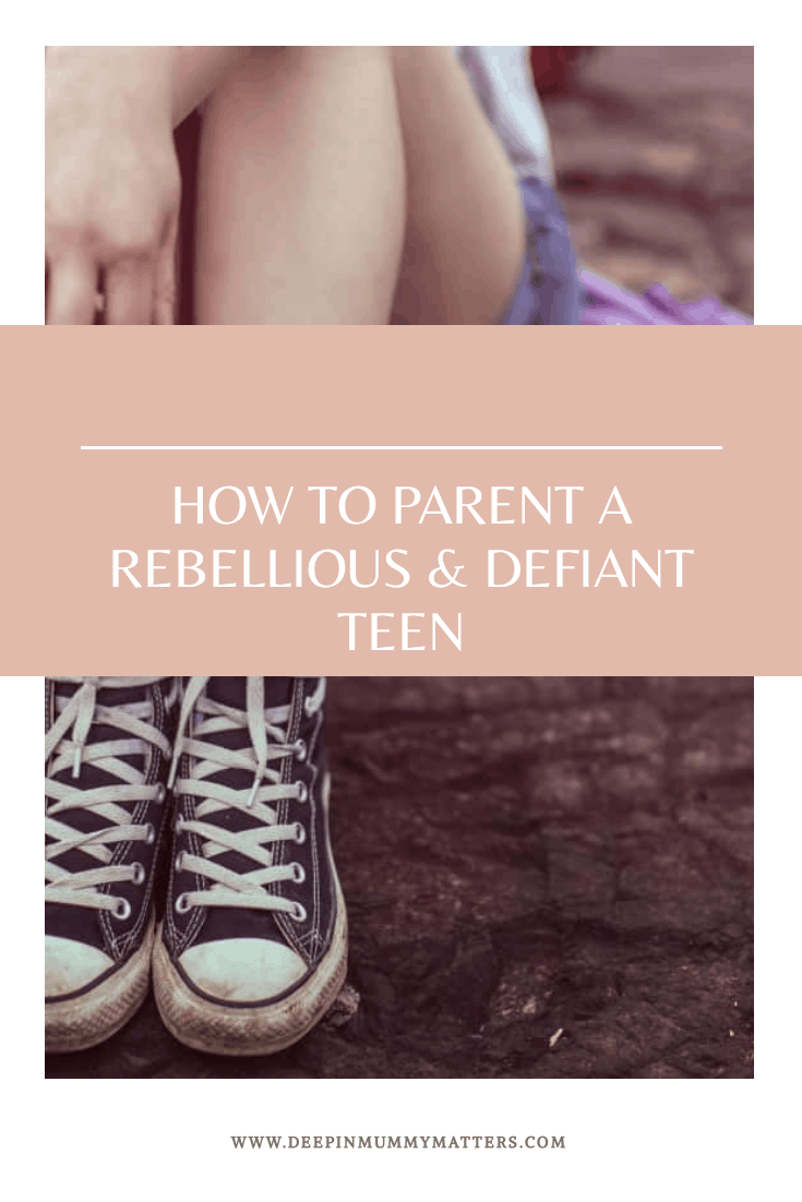 How to parent a rebellious and defiant teen
