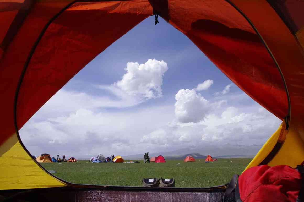 Tent size
