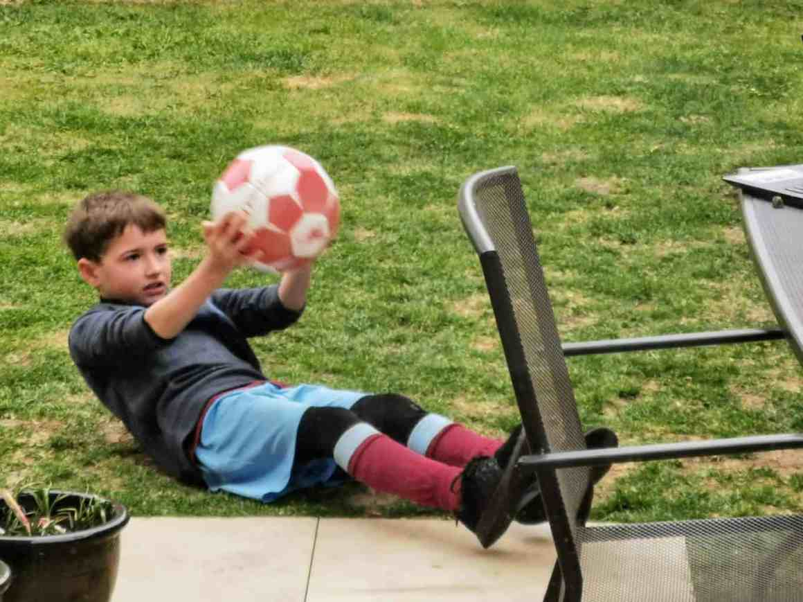Covid-19 diaries - Football training