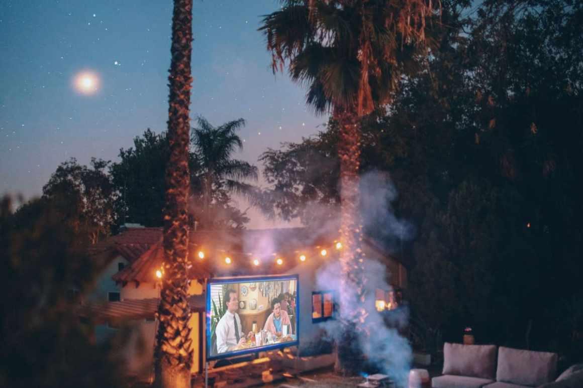Host a family movie night