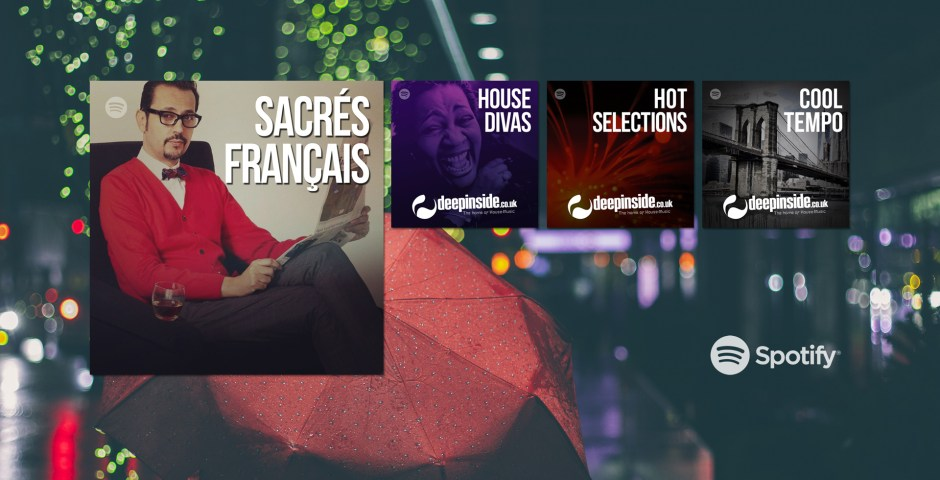 Discover our playlists on Spotify