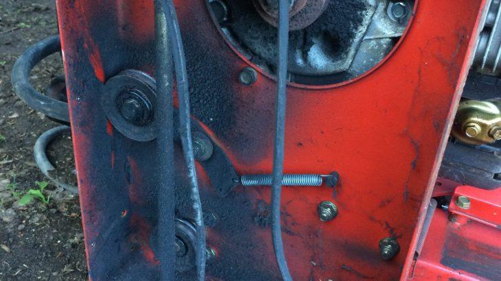 薪割り機 Vベルト交換