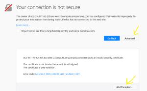 Jupyter Notebook (iPython) installation on AWS EC2 instance