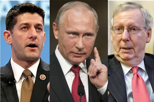 Top Ethics Official Lists GOP Members Of Congress 'Compromised' By Putin