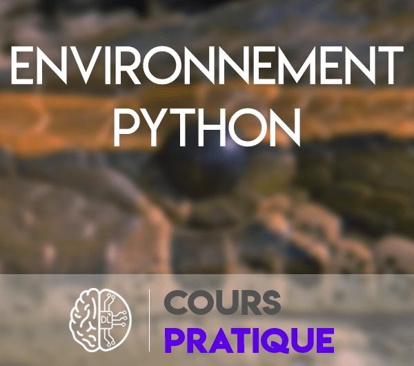 installation environnement python anaconda