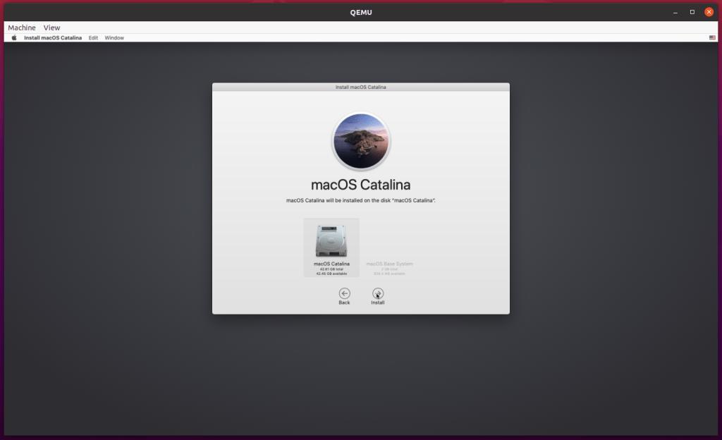 installer apple mac os catalina gratuit qemu kvm