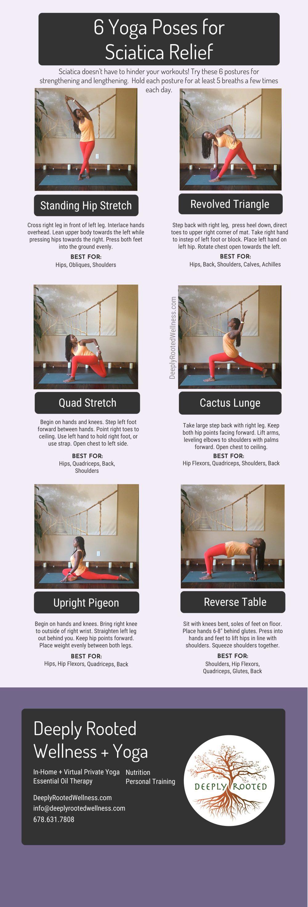 yoga postures for sciatica pain