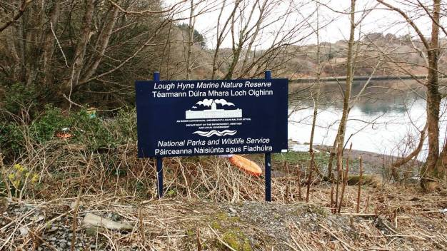 Lough Hyne is Ireland's only Marine Nature Reserve and has been the subject of ongoing research since initial scientific investigations undertaken by Rev. William Spotswood Green in 1886.