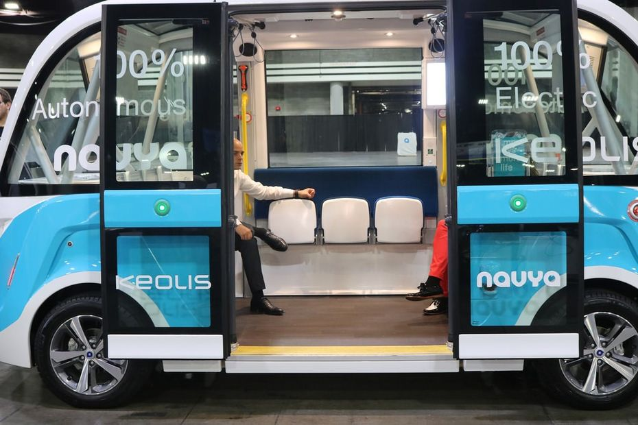 AI in the transport industry.